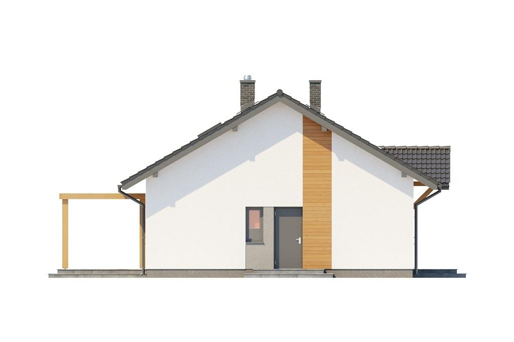 Projekt domu L-6698 - elewacja