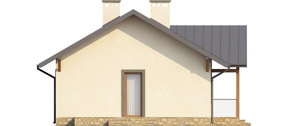 Projekt domu DM-6255 - elewacja