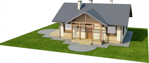 Projekt domu DM-6255 - model