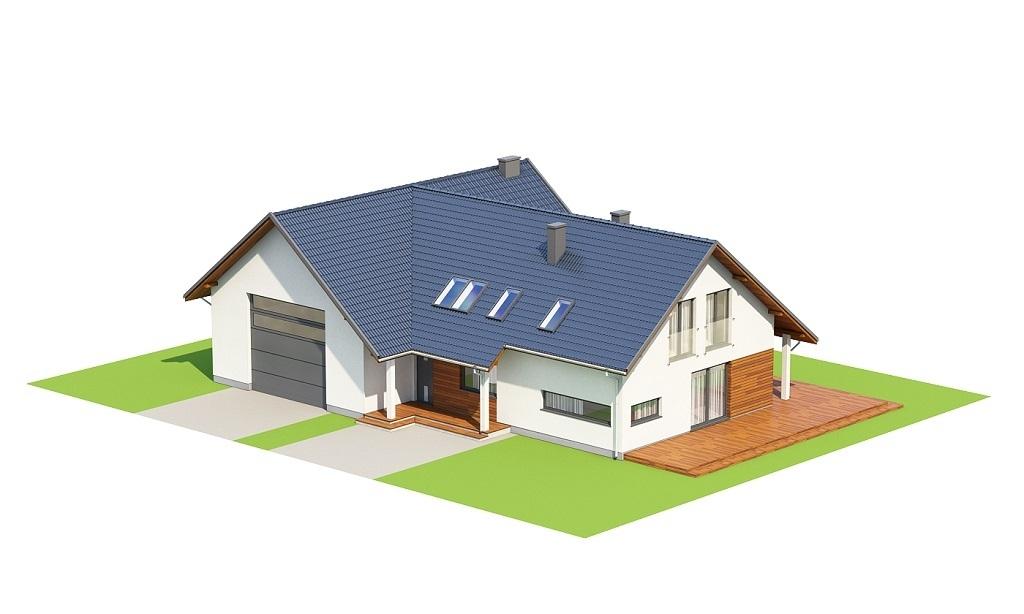 Projekt domu L-6696 - model