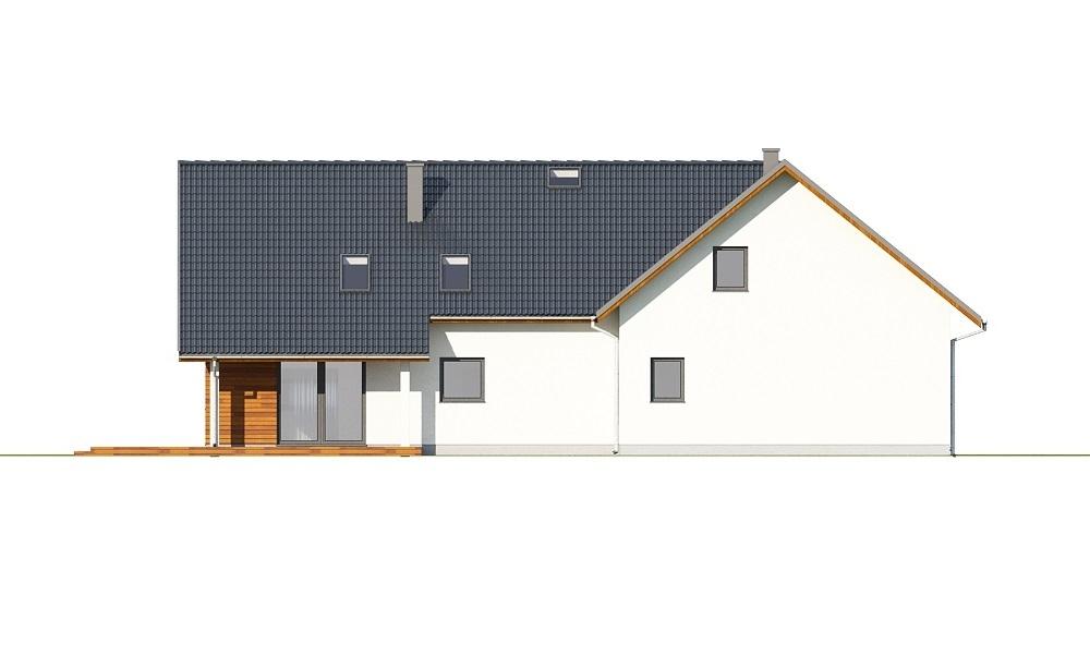 Projekt domu L-6696 - elewacja