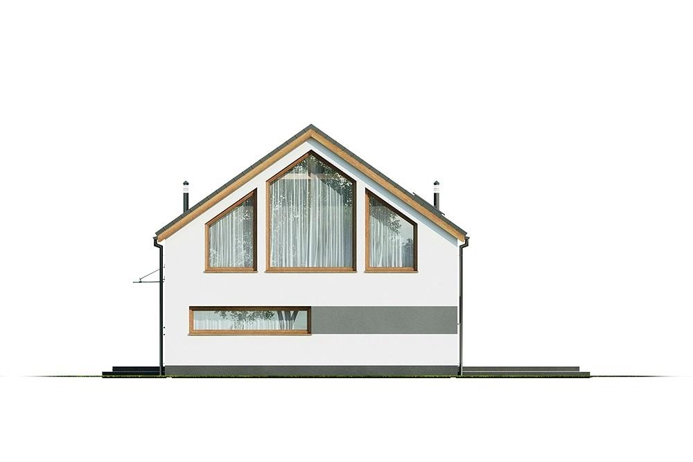 Projekt domu L-6562 B - elewacja