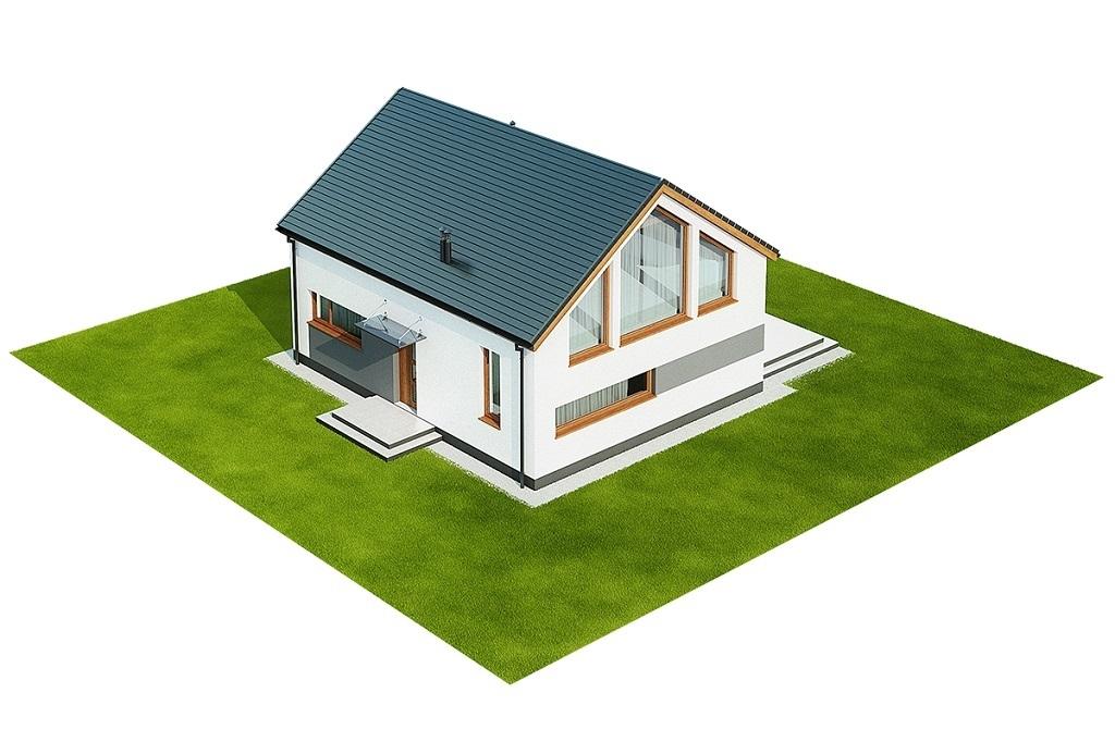 Projekt domu L-6562 B - model