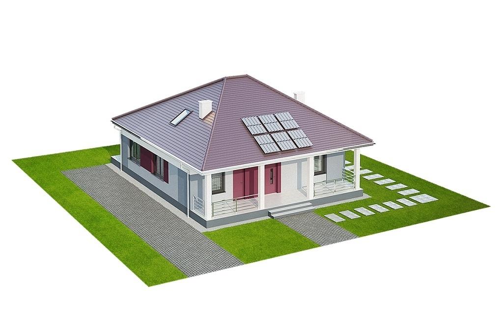 Projekt domu L-6685 - model