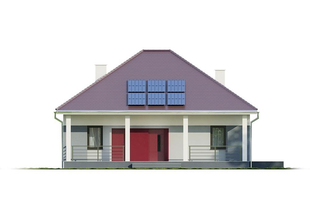 Projekt domu L-6685 - elewacja