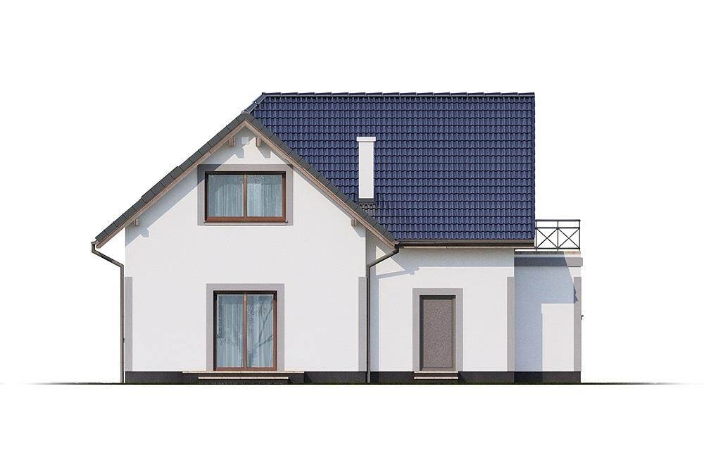 Projekt domu L-6689 - elewacja