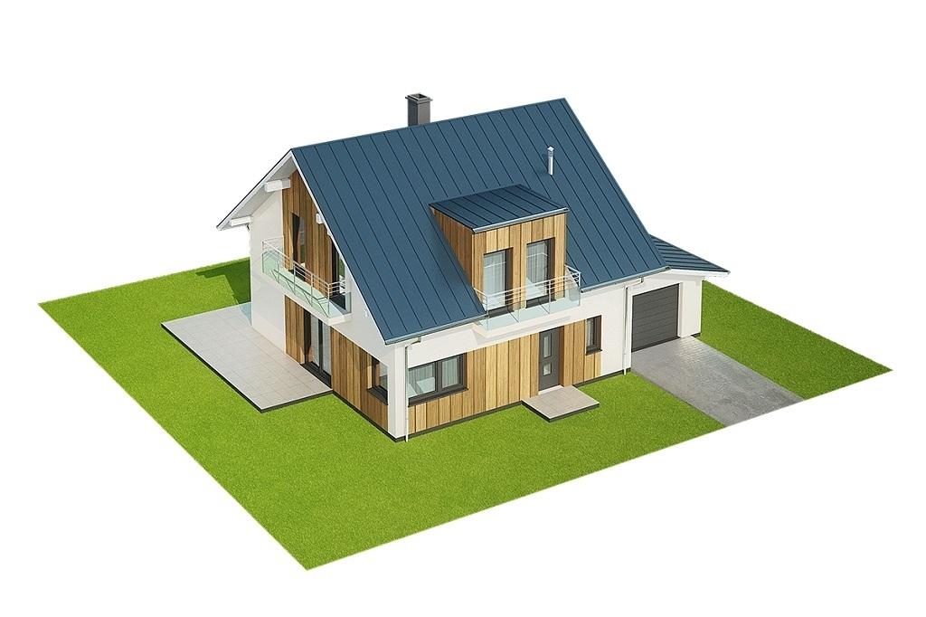 Projekt domu L-6686 - model