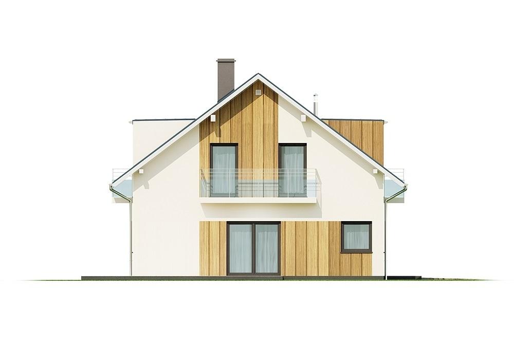 Projekt domu L-6686 - elewacja