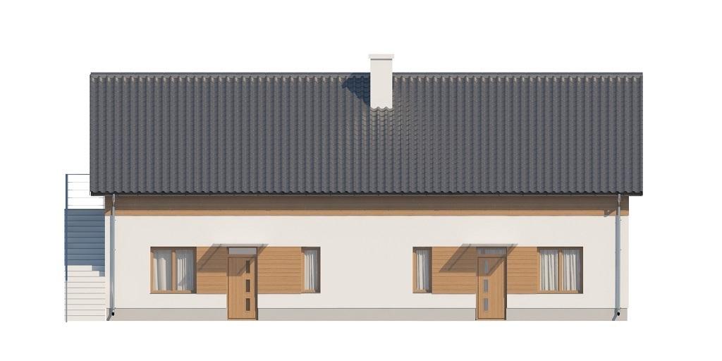 Projekt domu L-6646 - elewacja