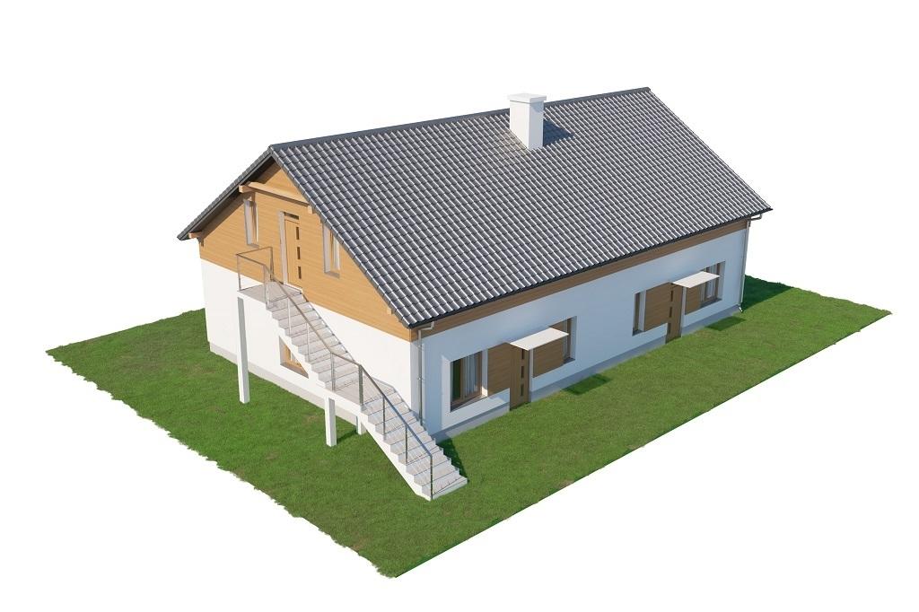 Projekt domu L-6646 - model