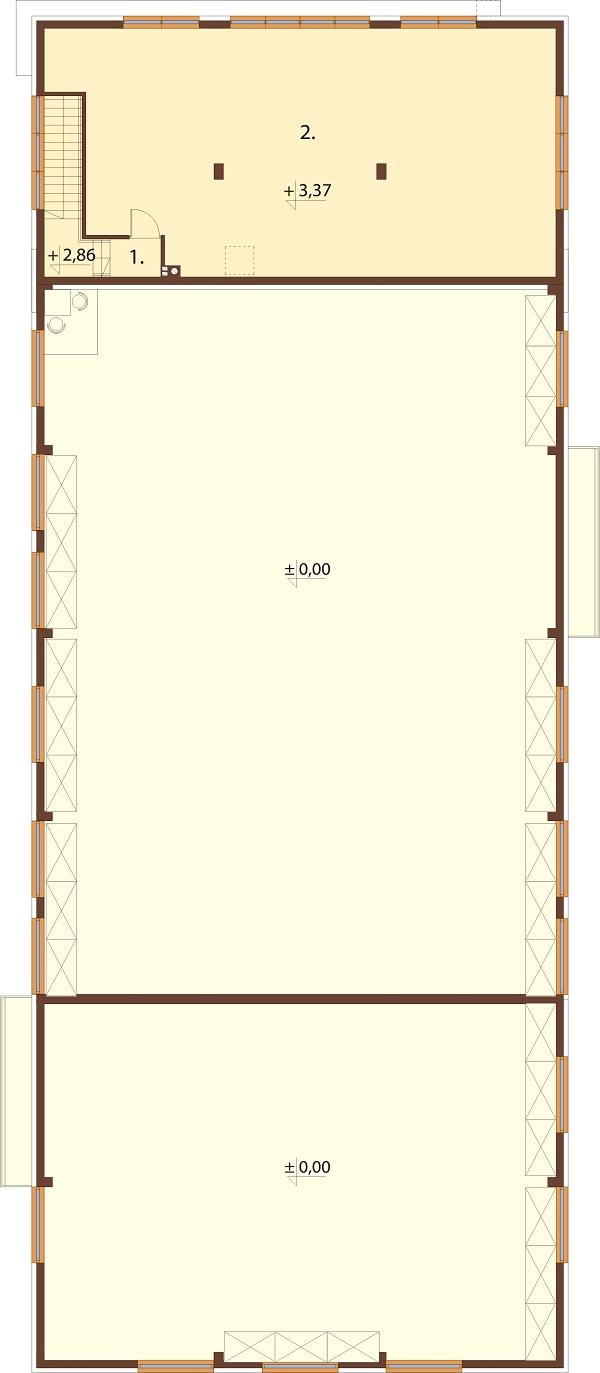 Projekt LK-118 - rzut