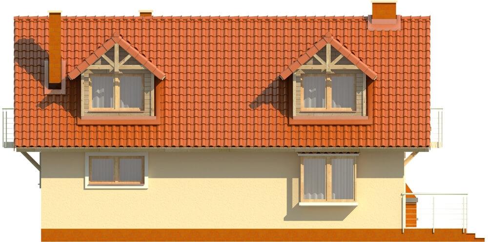 Projekt domu DM-6256 - elewacja