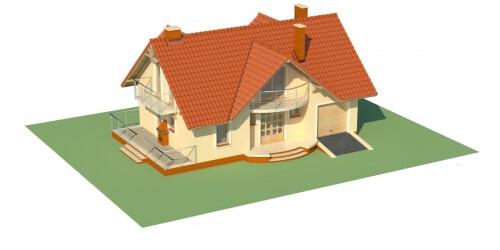Projekt domu DM-6256 - model