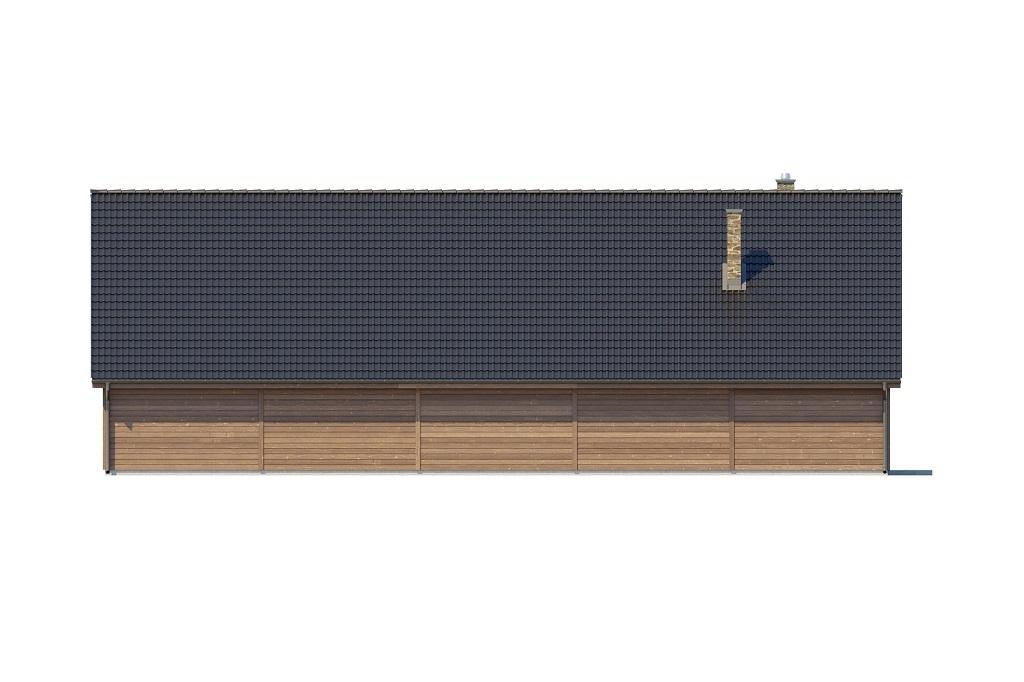Projekt LK-123 - elewacja