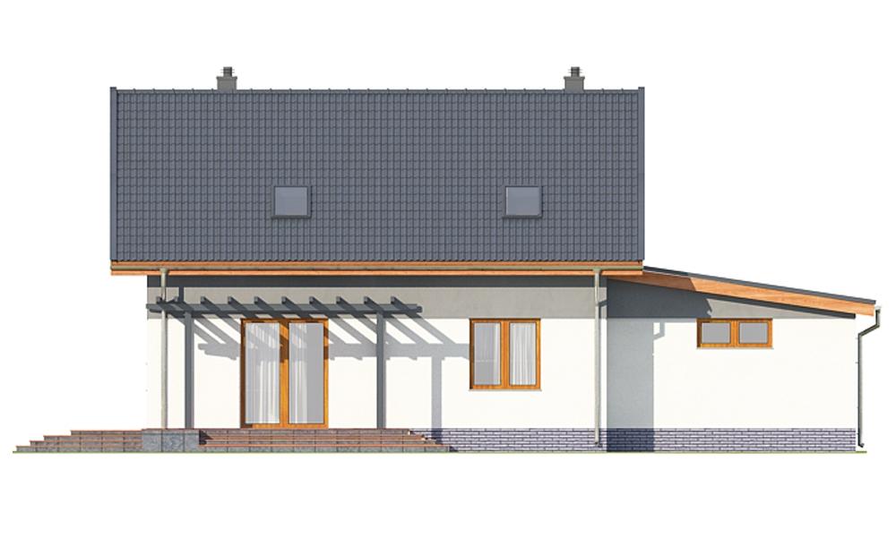 Projekt domu DM-6697 - elewacja