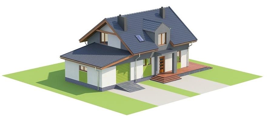 Projekt domu DM-6697 - model