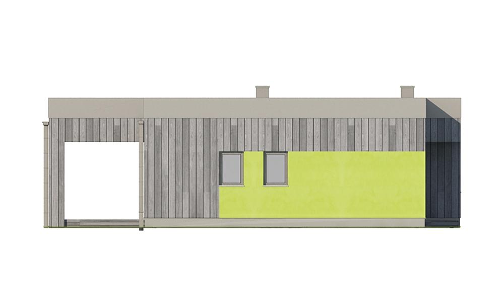 Projekt domu DM-6701 - elewacja