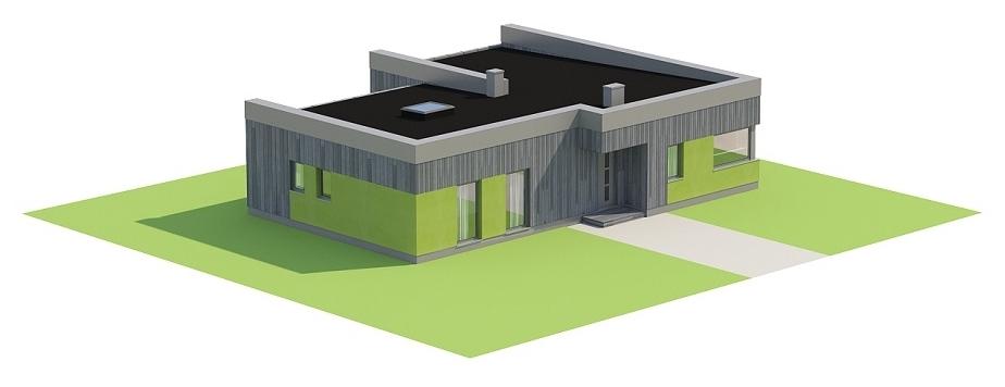 Projekt domu DM-6701 - model