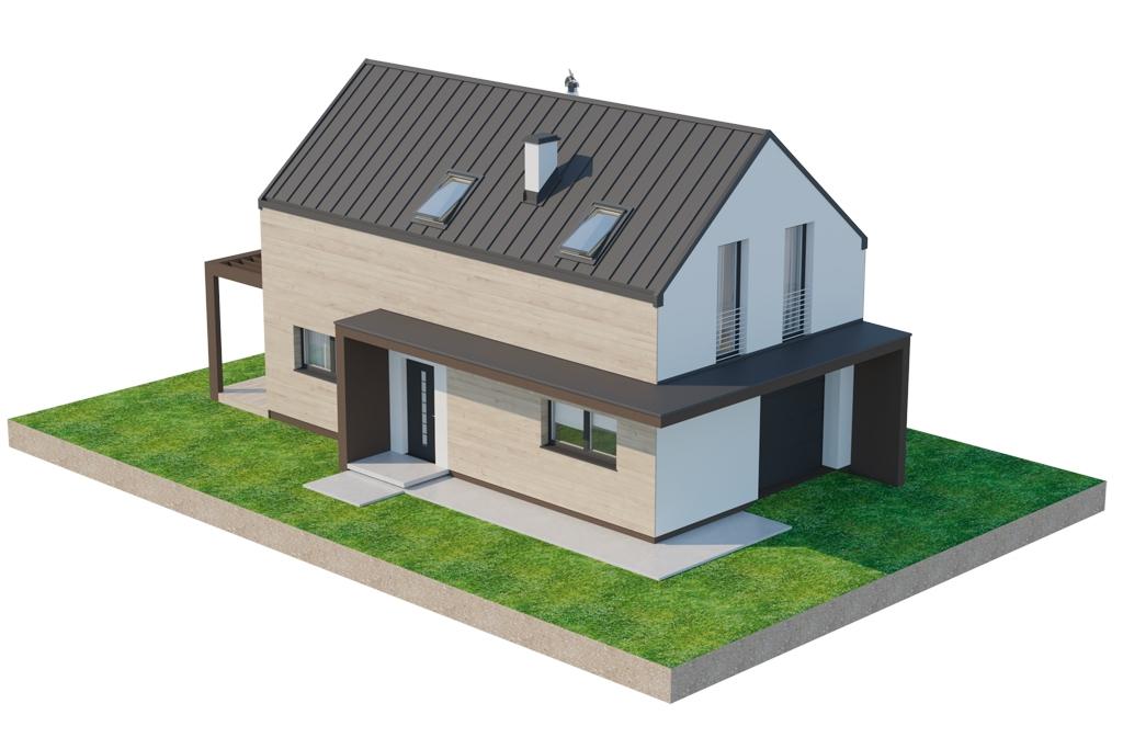 Projekt domu DM-6707 - model