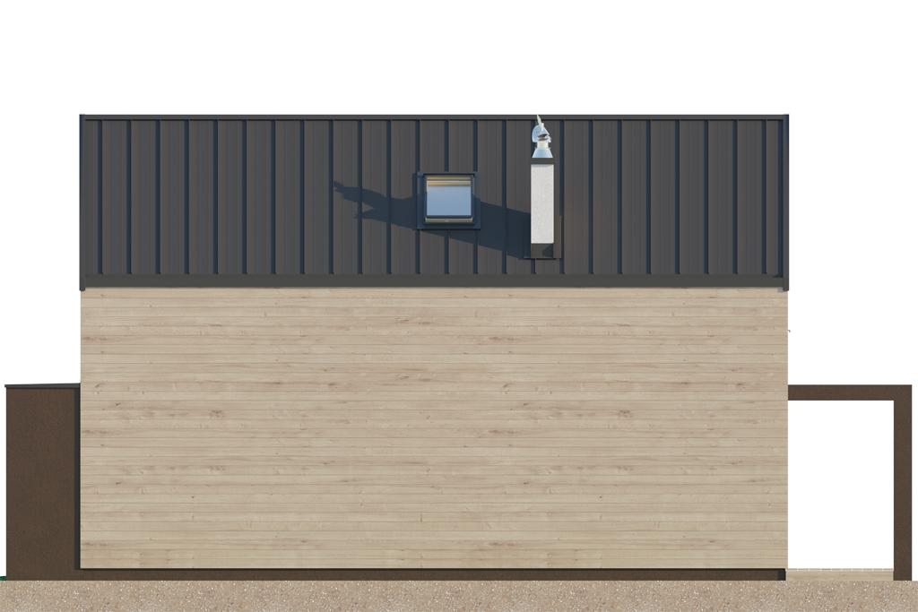 Projekt domu DM-6707 - elewacja