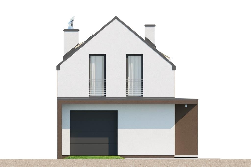 Projekt domu L-6707 - elewacja