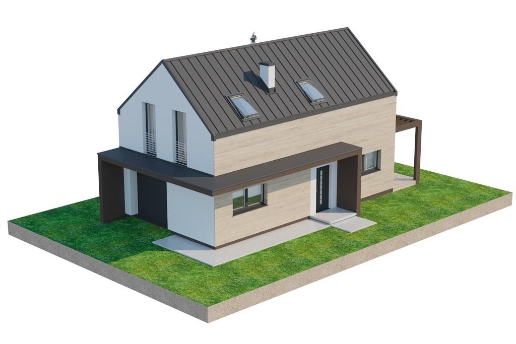 Projekt domu L-6707 - model