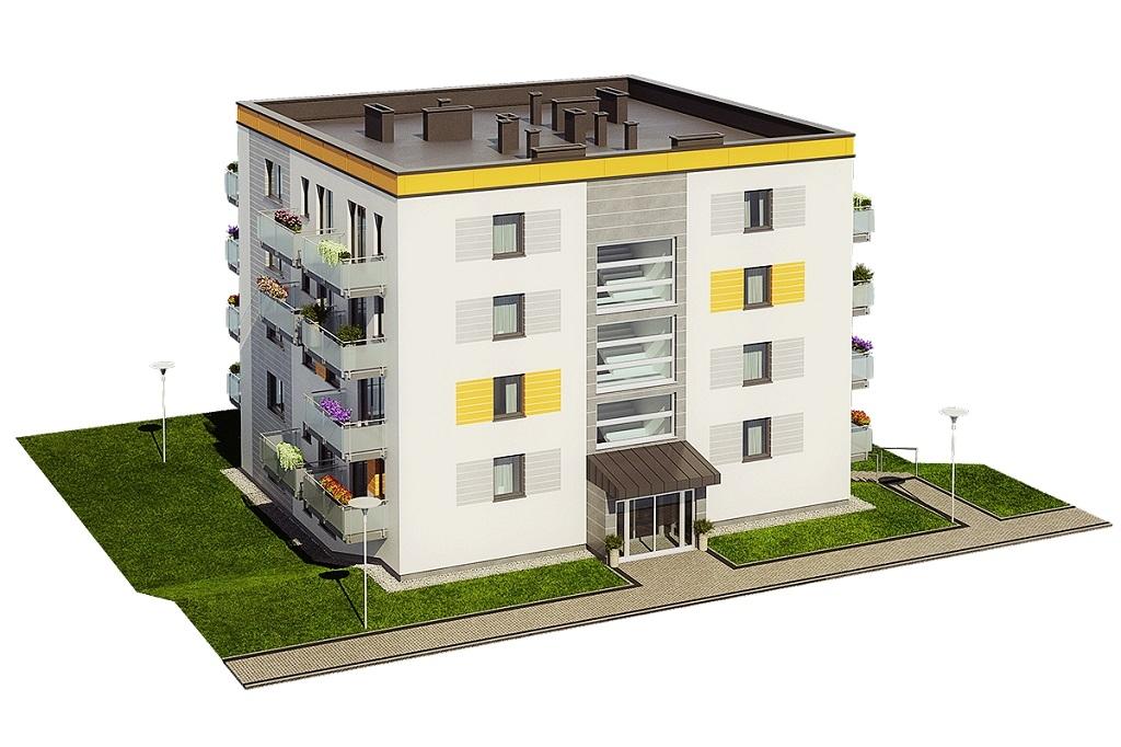 Projekt domu DM-6710 - model