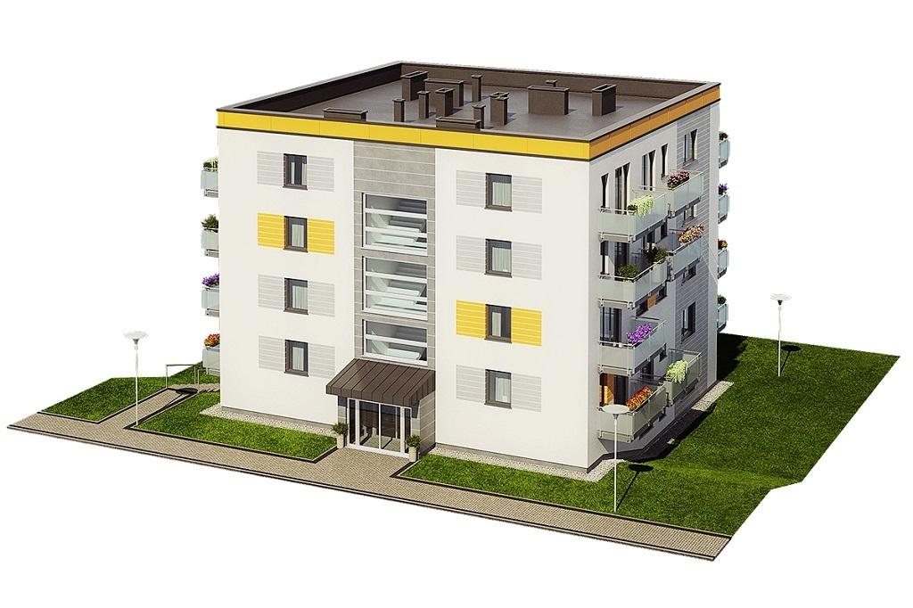 Projekt domu L-6710 - model