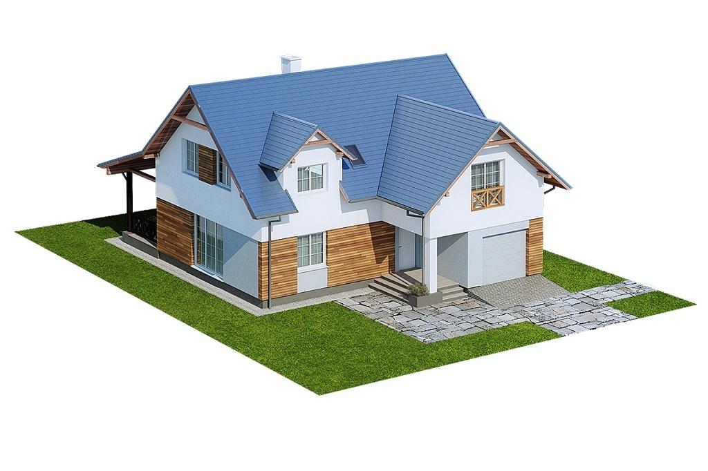 Projekt domu DM-6687 - model