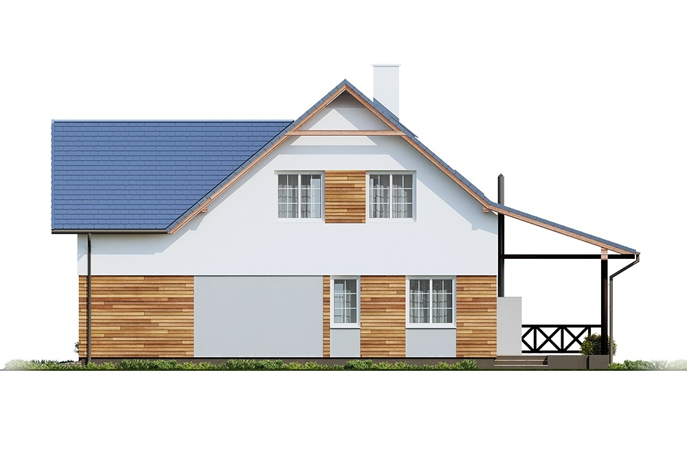 Projekt domu DM-6687 - elewacja
