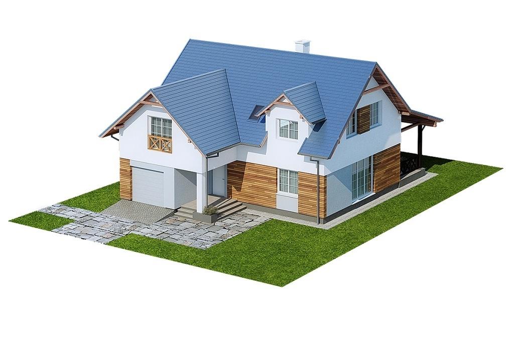 Projekt domu L-6687 - model