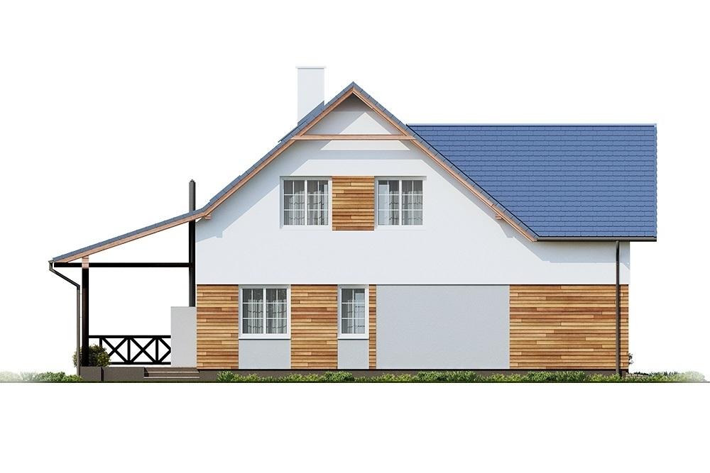 Projekt domu L-6687 - elewacja