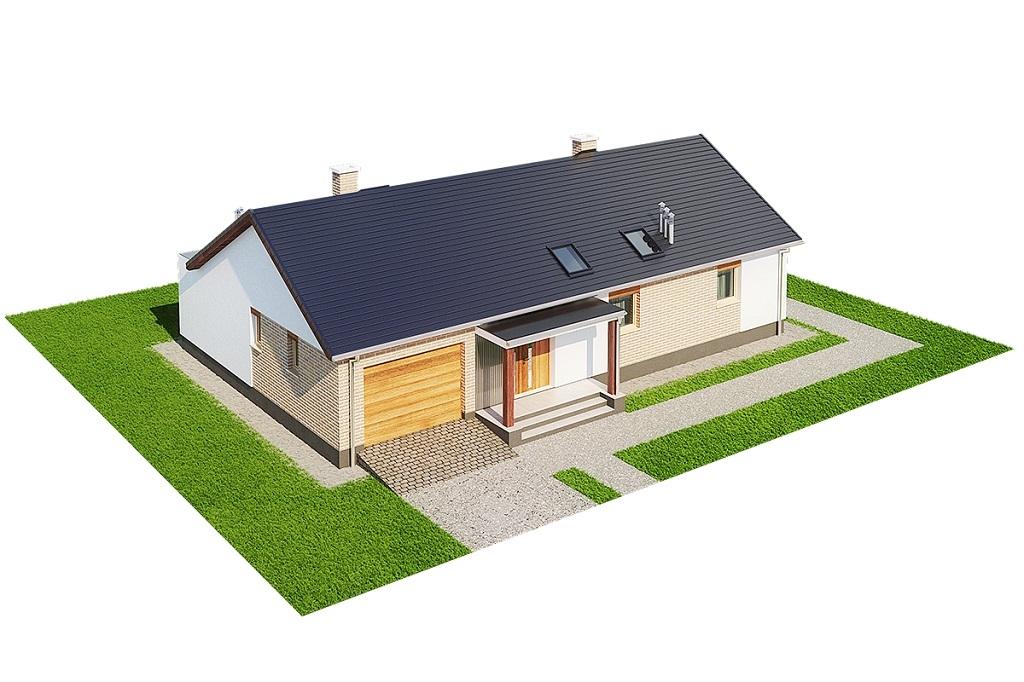 Projekt domu DM-6703 - model