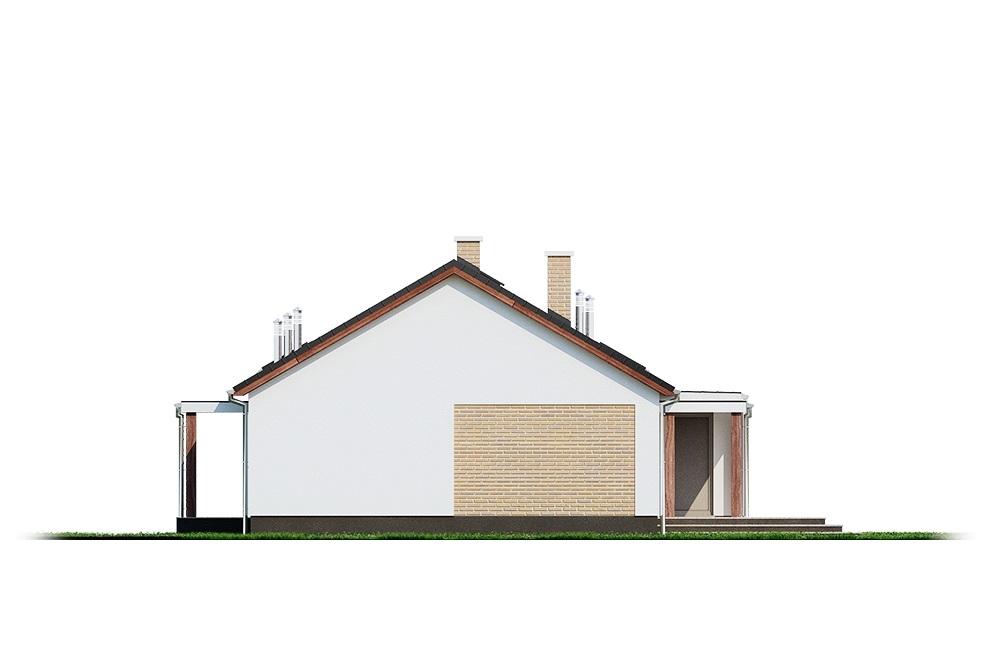 Projekt domu DM-6703 - elewacja