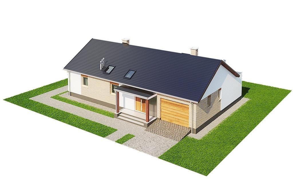 Projekt domu L-6703 - model