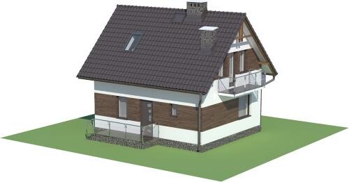 Projekt domu L-5582 C - model