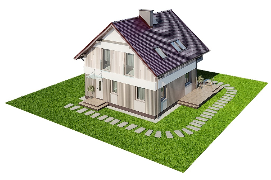 Projekt domu DM-6704 - model