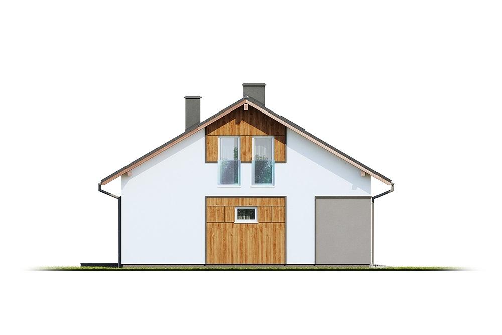 Projekt domu DM-6693 - elewacja