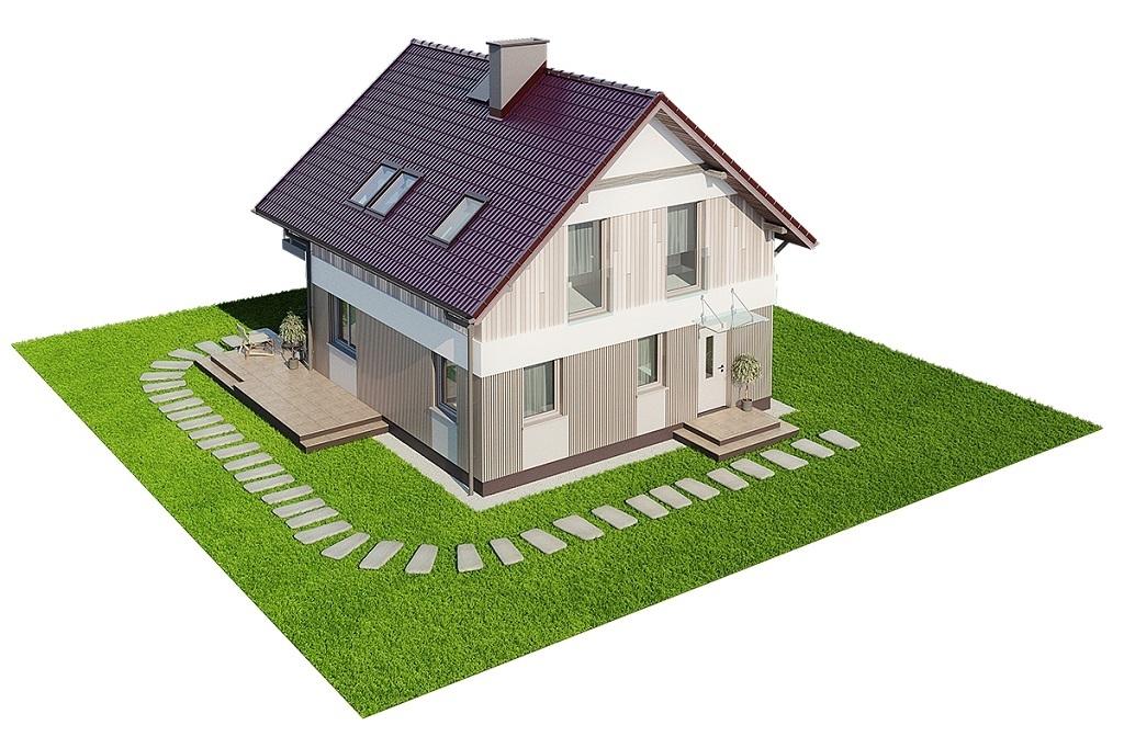 Projekt domu L-6704 - model