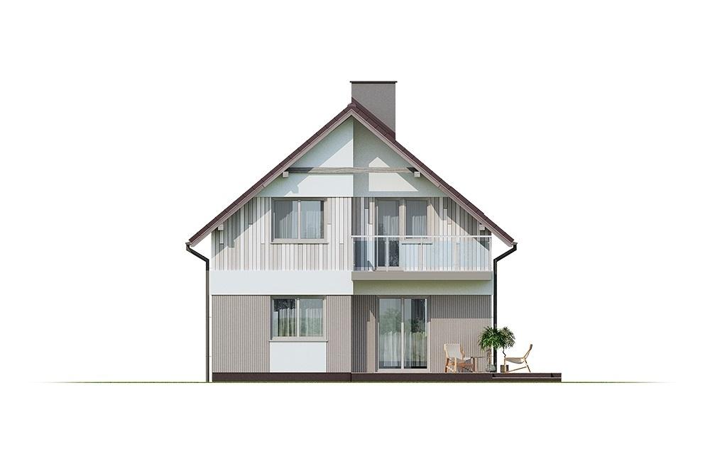 Projekt domu L-6704 - elewacja