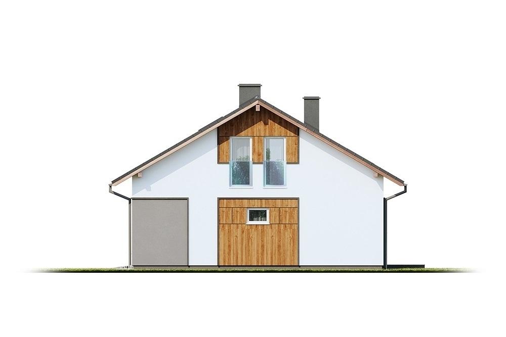 Projekt domu L-6693 - elewacja