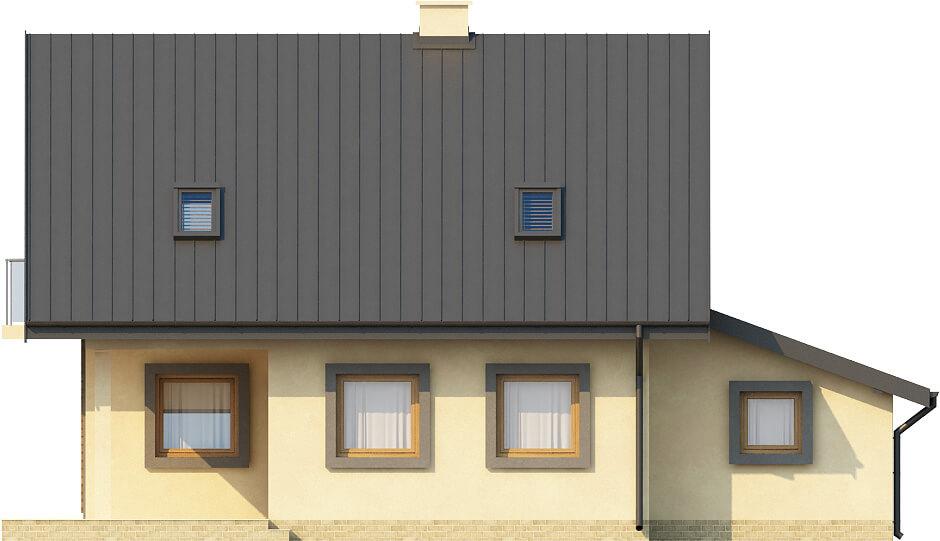 Projekt domu DM-6259 - elewacja
