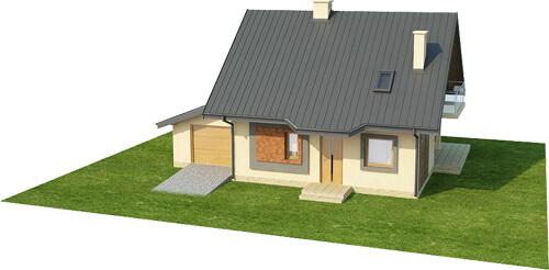 Projekt domu DM-6259 - model