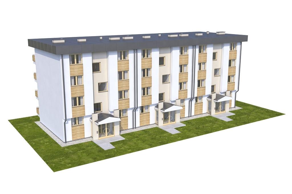 Projekt domu DM-6590C - model