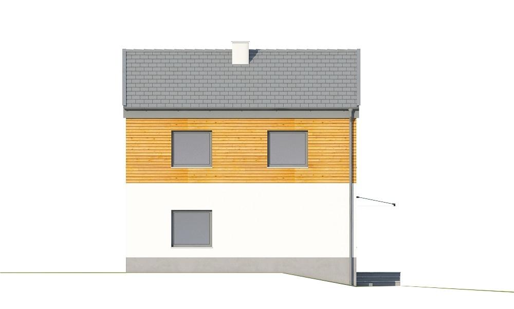 Projekt domu DM-6652 - elewacja