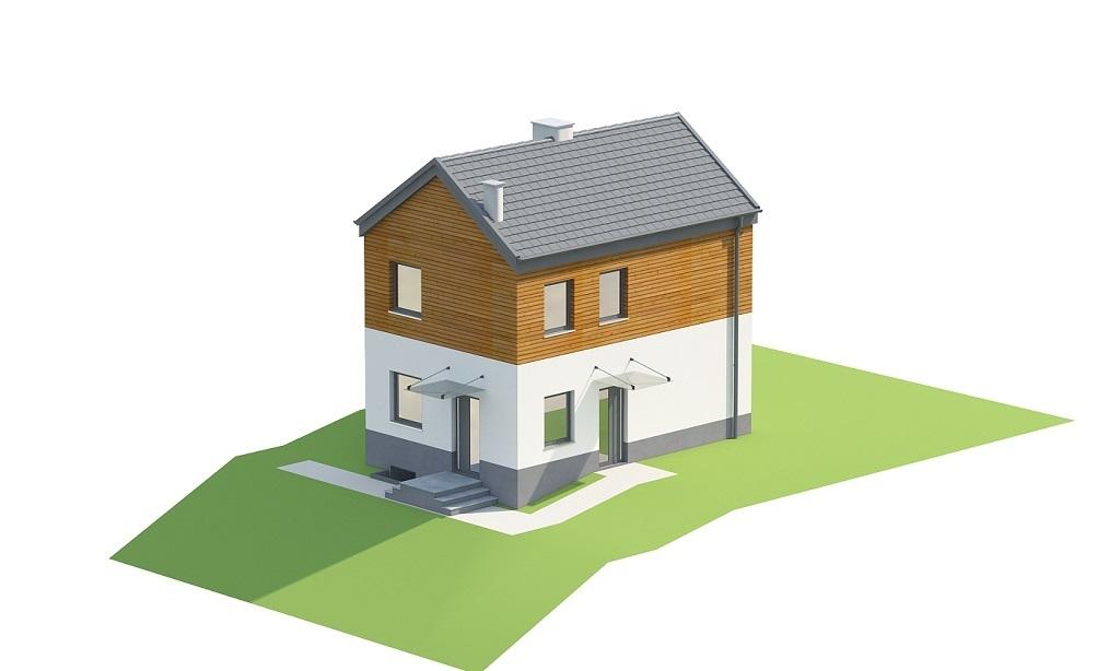 Projekt domu DM-6652 - model