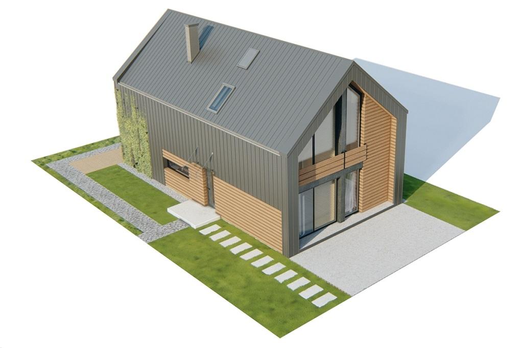Projekt domu DM-6719 - model
