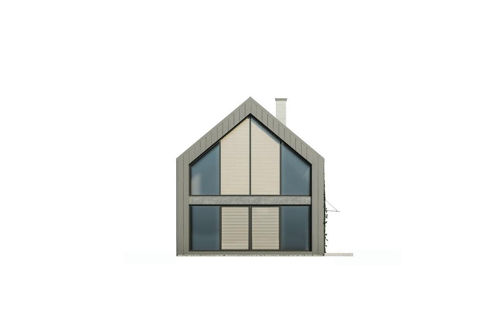 Projekt domu DM-6719 - elewacja