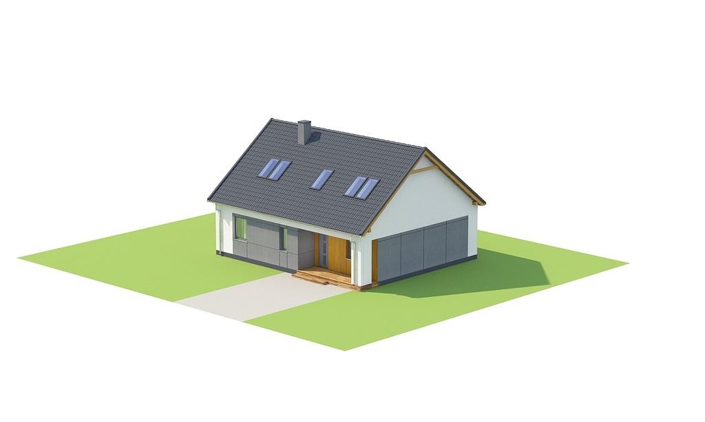 Projekt domu DM-6706 - model