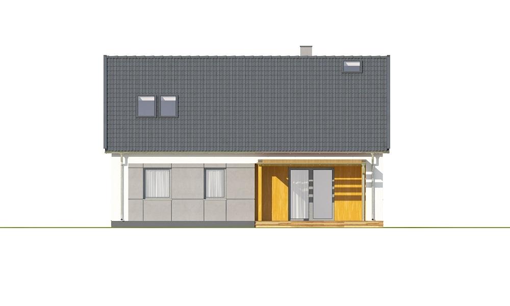 Projekt domu DM-6706 - elewacja